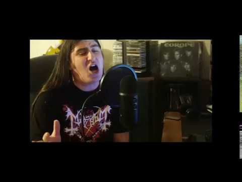 """Iron Maiden """" The Clairvoyant """" ( cover )"""