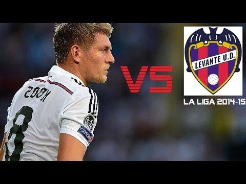 Toni Kroos vs Levante | Levante vs Real Madrid 0-5 | La Liga 2014/15 (A)