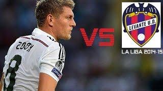 toni kroos vs levante   levante vs real madrid 0 5   la liga 2014 15 a