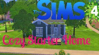 The Sims 4 Speed Build - Cozy Starter House