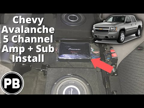 """NEW Q-POWER GMCAVALANCHE10DF GMC Avalanche Underseat Dual 10/"""" Subwoofer Sub Box"""