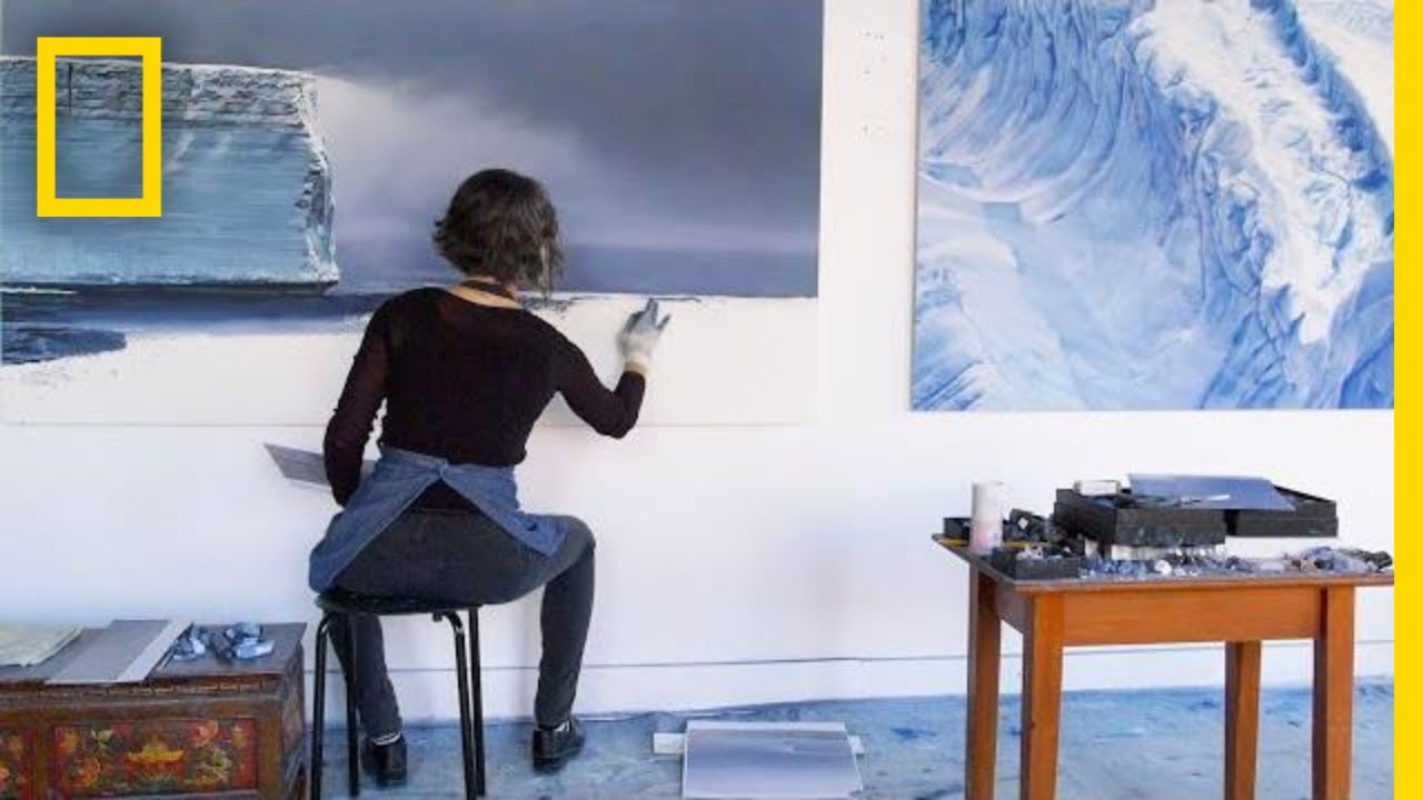 See How NASA Helped An Artist Create Stunning Drawings of Glaciers | Short Film Showcase