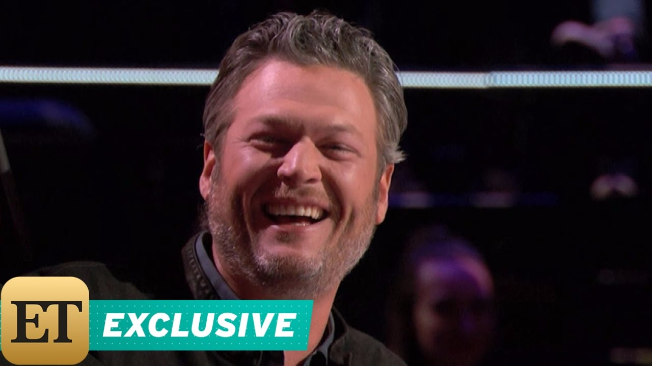 EXCLUSIVE: Blake Shelton Can't Stop Making Gwen Stefani Giggle During 'The Voice' Bli