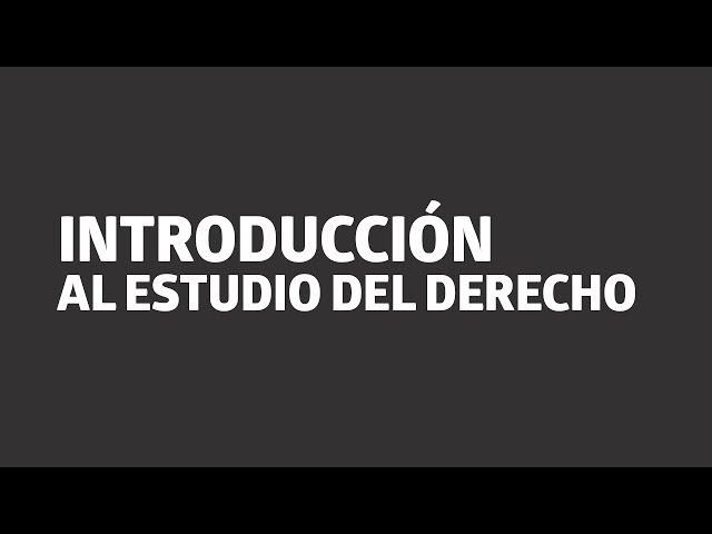 Introducción al estudio del Derecho | UTEL Universidad