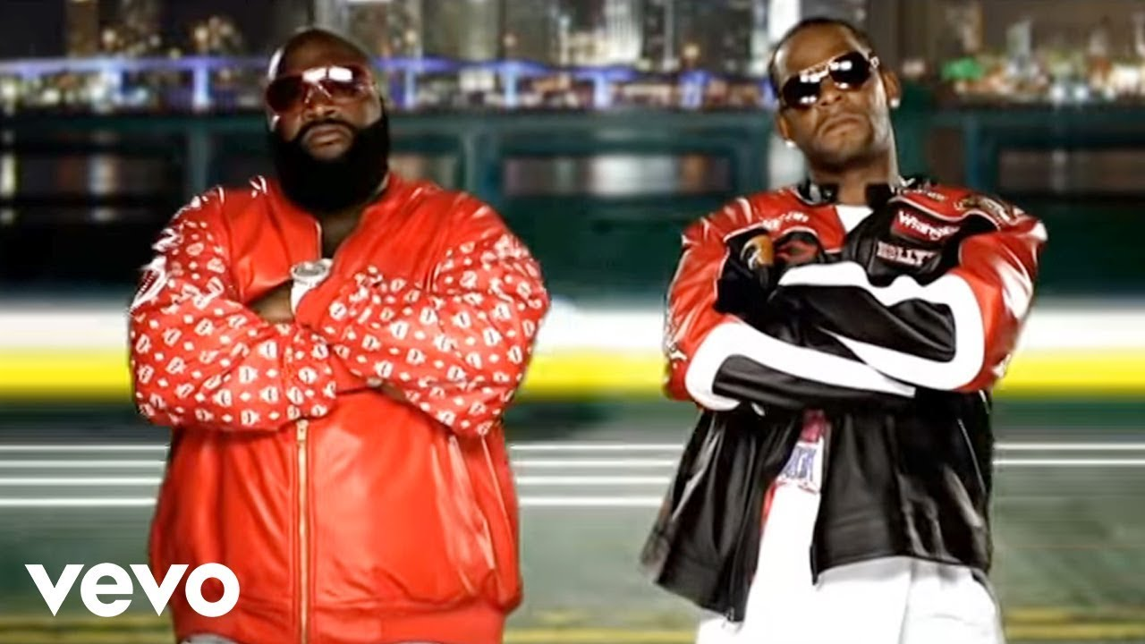 Rick Ross - Speedin' ft  R  Kelly (Official Video)