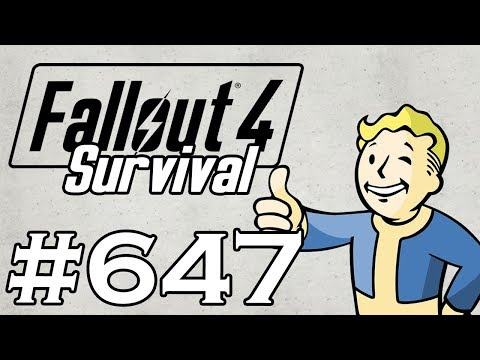 Let's Play Fallout 4 - [SURVIVAL - NO FAST TRAVEL] - Part 647 - Charge Card