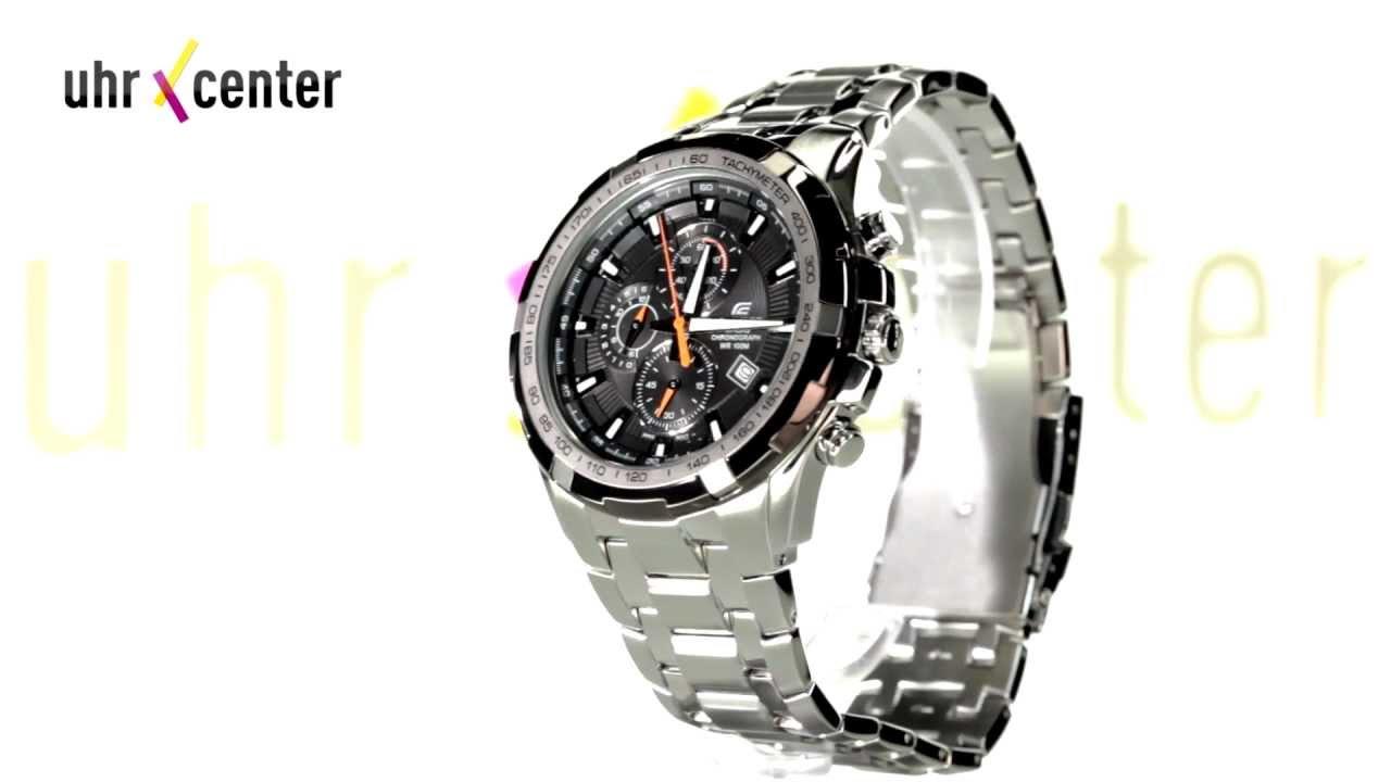 edbd7ee31737 Casio EF-539D-1A9VEF Edifice Herren-Armbanduhr - YouTube
