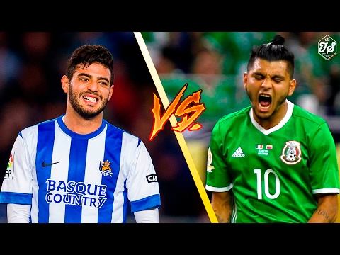 Jesús 'Tecatito' Corona vs Carlos Vela ● Best Skills and Goals Ever ● Battle of  Mexican Superstars