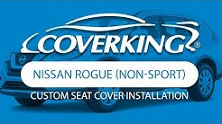 How to Install 2017-2018 Nissan Rogue (non-sport) Custom Seat Covers