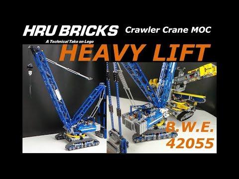 Crawler Crane Bucket Wheel Excavator Lift!