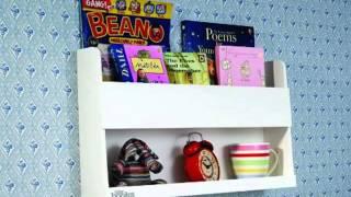 Get The Original Wooden Bunk Bed Shelf And Bedside Storage For Kids Rooms Slide