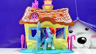 My Little Pony Pinkie Pie Sweet Shoppe House Mlp Toy Playset Video For Kids Worldwide