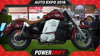 UM Renegade Thor @ Auto Expo 2018 : PowerDrift