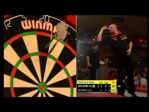 QFH James Wilson (England) v Alan Norris (England)