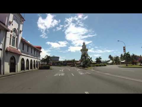 Samoa Upulu Apia, centre ville, Gopro / Samoa Upulu Apia, city center, Gopro