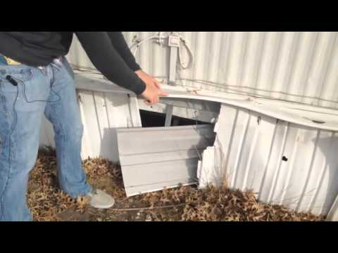 Mobile Home Skirting 101 - YouTube on