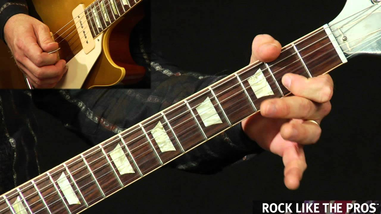 Power Chord Canon In D Pachelbels Canon Beginning Guitar Lesson