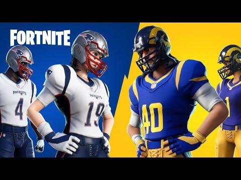 Download SuperBowl 2019: (NFL Patriots VS. Rams, NFL RUMBLE, Fortnite Battle Royale)
