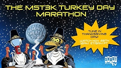 MST3K Turkey Day 2019 Marathon - Nov 28th at 12pm ET / 9am PT