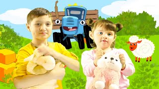 Songs for children - A tractor rides - a cartoon about cars by Yasmina Kids TV