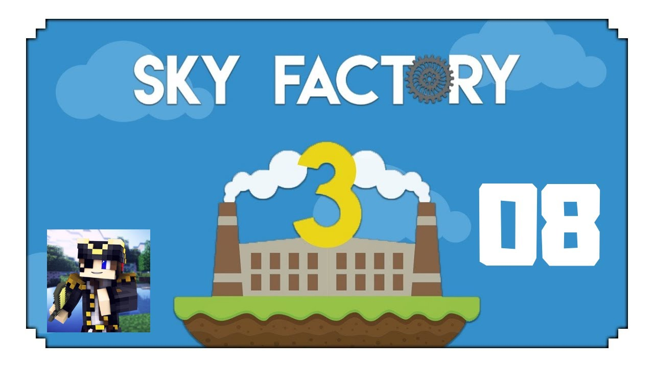 SkyFactory 3: RF Automated Power Generation! Ep8