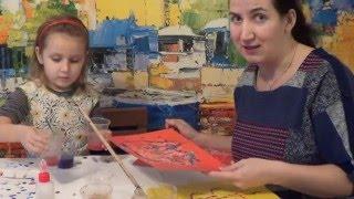 Рисуем солью. Увлекательное занятие для детей /  children's crafts