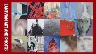 Latvian art and photos exhibition opens in Beijing 北京拉脱维亚艺术展
