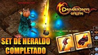 ¡¡SET DE HERALDO (Q7) COMPLETADO GRADO 3!! | DRAKENSANG ONLINE