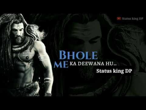 Mahakal Status 👻 Bhole ka Dewanaa   MahaShivratri Status 🙏   Mahadev  Whatsapp Status  