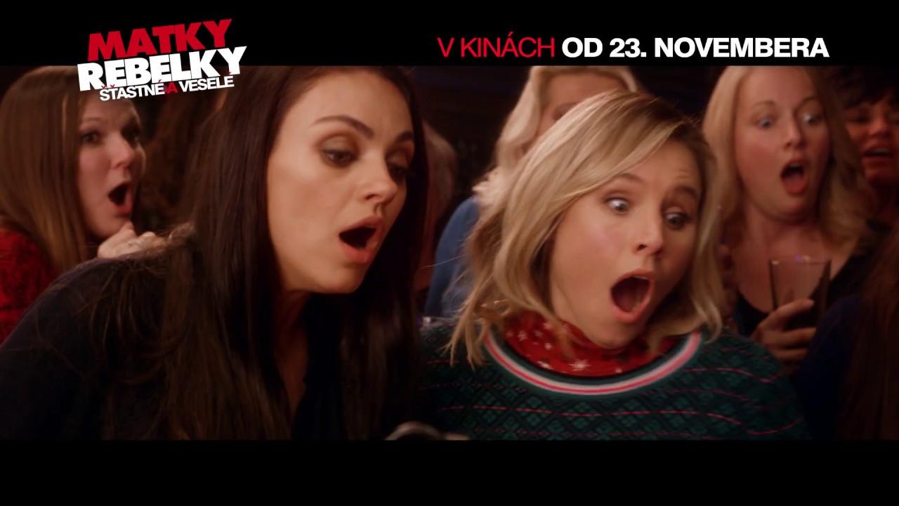 Matky rebelky: Šťastné a veselé (A Bad Moms Christmas)   OFICIÁLNY SLOVENSKÝ SPOT