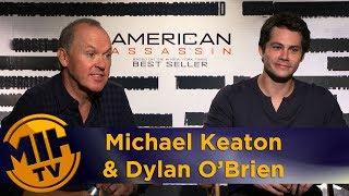 Michael keaton & dylan o'brien discuss devastating scene in 'american assassin'