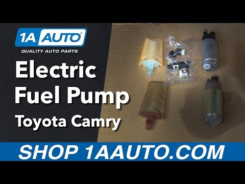 How to Replace Install Electric Fuel Pump 1997-06 Toyota Camry Buy Quality Auto Parts at 1AAuto.com