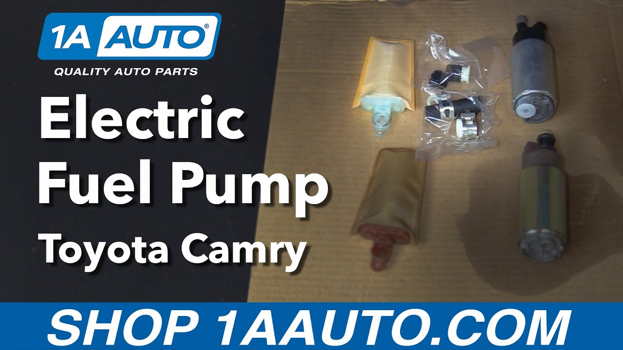 how to replace electric fuel pump 97 06 toyota camry [ 1280 x 720 Pixel ]