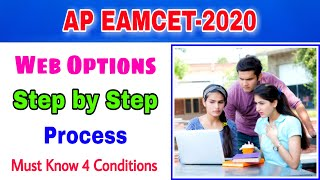 ap eamcet web options 2020||step by step process||ap eamcet 2020||candidates login
