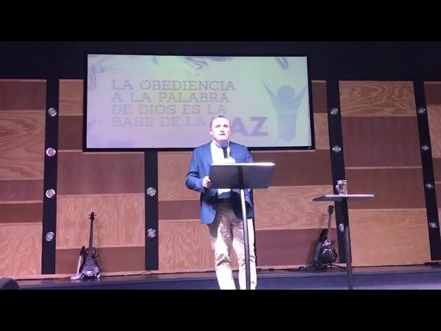 El mensaje de salvación trae paz - Pastor Diego Touzet