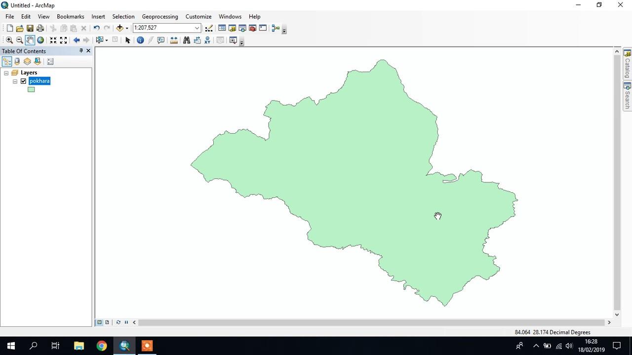 How to create shapefiles easily || editor toolbar || Tekson