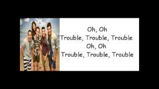 Repeat youtube video BTR & Victoria Justice - I Knew You Were Trouble (lyrics) [Taylor Swift cover]