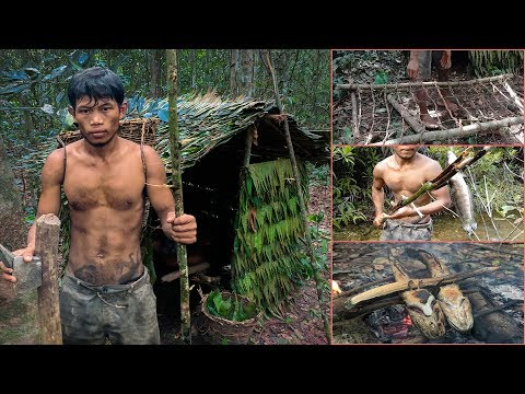 life living in the forest with primitive technology - full video