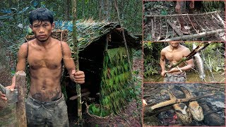Real Life In The Forest With Primitive Technology Full Video