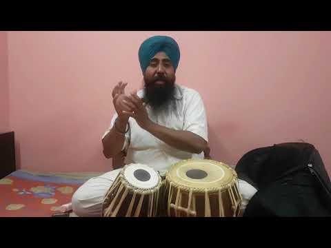 learning tabla in hindi step #13 keherwaa ka bol or parkaar