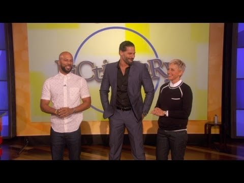 Pictionary with Joe Manganiello and Common