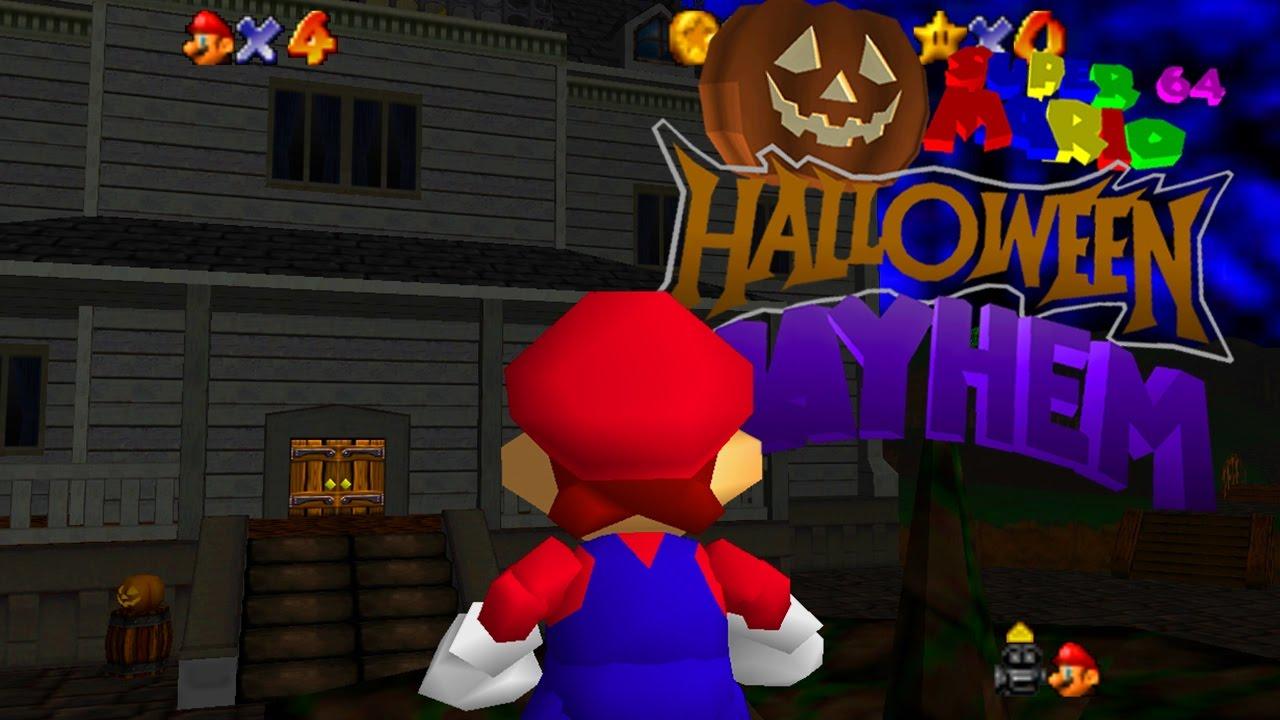 """Super Mario Halloween Mayhem 100% (8""""53'72) (WR) (TAS)"""