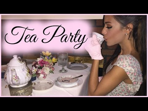 I WENT TO A TEA PARTY?