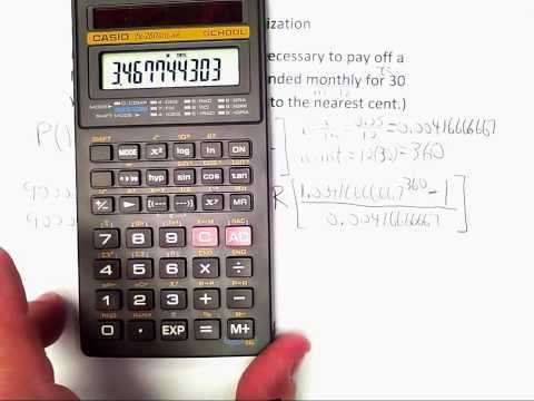 01 Calculating Monthly Payments & Amortization Schedules