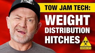 Weight distribution & load levelling hitches for heavy towing (plus nuts) | Auto Expert John Cadogan