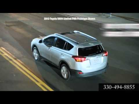 New 2013 Toyota RAV4 Canton Akron OH Cain Toyota Canton OH Akron OH
