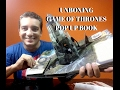 UNBOXING GAME OF THRONES POP UP BOOK !!