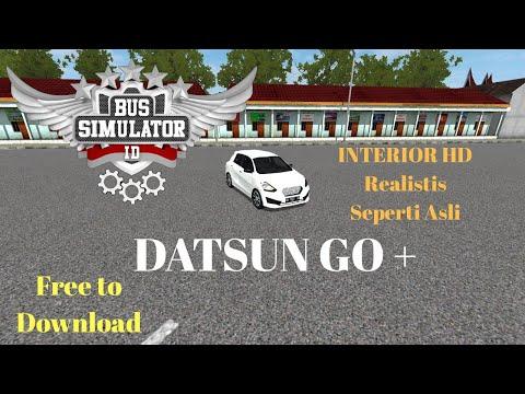 Mod BUSSID baru Datsun Go | Review lagi keren Grafik bagus dan Gratis
