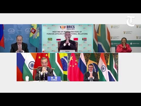 BRICS foreign ministers hold virtual meeting