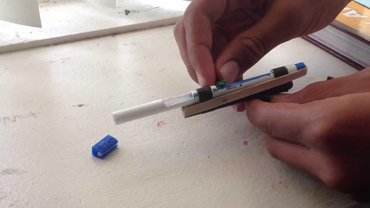 Bolt Action Pencil Gun Rifle Youtube